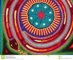 Resultado de imagen para arte huichol peyote