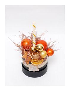 The Christmas box - gold Christmas Time, Magick