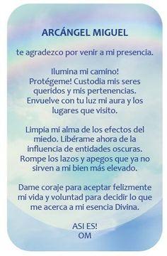 Meditation And Mindfulness The Same God Prayer, Daily Prayer, Archangel Prayers, Spanish Prayers, Your Guardian Angel, Spiritus, Prayer Board, Dear God, Inner Peace