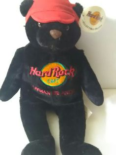 Hard Rock Cafe Universal Cayman islands Charlie Bear Beara #collectible #hardrock @enjoylife35