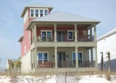 Gulf Shores, AL: In honor of these endangered little characters that are such an important part of our coastal dune ecosystem, this brand new gulf front home's desig...