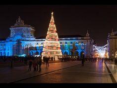 Natal em Lisboa II - Luzes na Baixa de Lisboa - Iluminação de Natal em L...