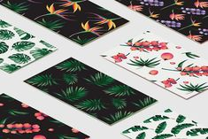 Tropical - Watercolor collection by FinsoulCreative on @creativemarket
