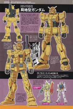 Mobile Suit Gundam The Origin: Mechanical Archives - Image Gallery Gundam Toys, Gundam Art, ガンダム The Origin, Robot Series, Real Robots, Robot Illustration, Zeta Gundam, Gundam Mobile Suit, Gundam Seed