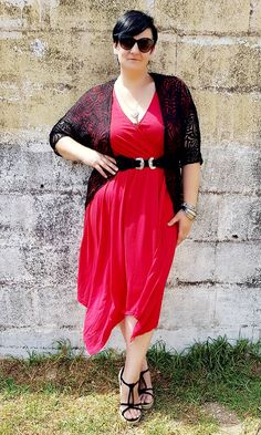 My Christmas outfit. Plus size is beautifull. Lady in red. Mrs Santa Clause.