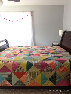crazy mom quilts: epic quilt top complete