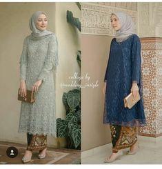 Simple Summer to Spring Outfits to Try in 2019 Kebaya Modern Hijab, Kebaya Hijab, Kebaya Brokat, Dress Brokat, Kebaya Muslim, Muslim Dress, Kebaya Lace, Batik Kebaya, Kebaya Dress