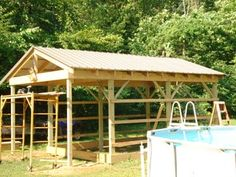 How to Build a 12x20 Cabin on a Budget : 15 Steps (with Pictures) - Instructables Building A Small Cabin, Building A Shed, Building Ideas, Building Plans, Gazebo, Storage Shed Kits, Diy Storage, Shed Base, Shed Construction
