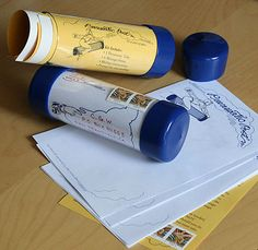 Pneumatic Post Kit by Writer Letters Alliance