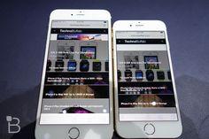Apple iPhone 5s vs iPhone 6 Plus: Size Comparison