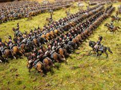 History in 1/72: Waterloo - the Cuirassier Brigade