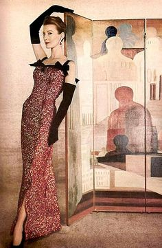 Photo by Louise Dahl-Wolfe 1955