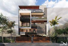 Modern Exterior House Designs, Modern House Design, Exterior Design, 3 Storey House Design, Bungalow House Design, House Outside Design, House Front Design, Residential Architecture, Architecture Design