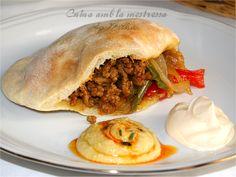 Cuina amb la mestressa: Bocata de pan de pita con ternera al Ras el Hanout