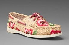 Sperry Raffia Top-Sider, $85