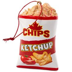 Ketchup Chips Ornament by Main and Local