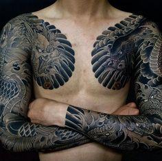 Yallzee's Tattoo Pick of the day.Tattoo by @horihide_david. #inked #yallzee #pick #tattoo #inkedmag #tattoos #idea #art #japanese