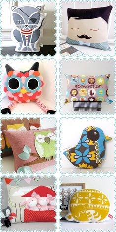 Handmade Kids Pillows / Cushions
