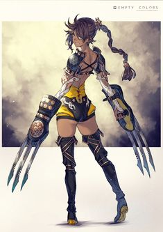 """""""I'm good I brown girls"""" Female Character Concept, Fantasy Character Design, Character Creation, Character Design Inspiration, Character Art, Fantasy Fighter, Fantasy Warrior, Fantasy Girl, Woman Warrior"""