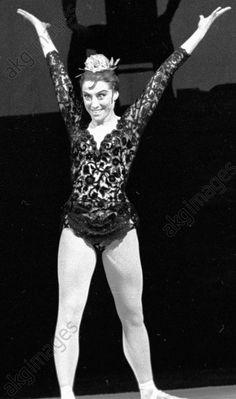Ballerina Plisetskaya on the Bolshoi stageBallerina Maya Plisetskaya as Karmen in the Karmen Suite ballet.