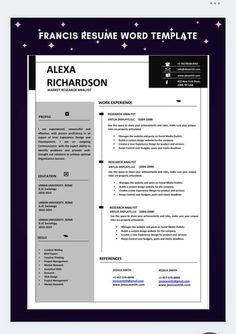 Cv Resume Template, Resume Cv, Resume Design, Cv Words, Resume Words, Resume Review, Creative Resume, Creative Design, Looking For A Job