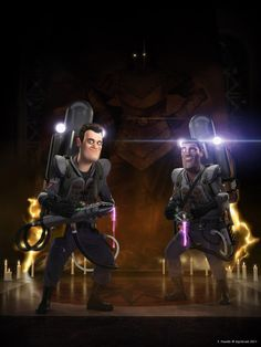 Ghostbusters II Slime Time by Kipkiopkia on DeviantArt Ghostbusters Characters, Ghostbusters 1984, The Real Ghostbusters, Paranormal, Drawn Art, Ghost Busters, Geek Culture, Pop Culture, Great Movies