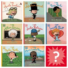 For 6-Year-Olds: Brad Meltzer's Ordinary People Change the World Books. Next Up - George Washington and Jane Goodall. Sept 2016