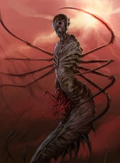 By Creatureconcept - Cancer by DefiledVisions.deviantart.com on @deviantART /  Done for ConceptArt.org's 'creature of the week' challenge