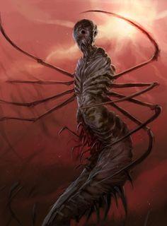 Creatureconcept - Cancer by DefiledVisions.deviantart.com on @deviantART