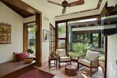 Salas de estilo moderno por monica khanna designs