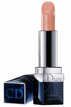 """""""The shade has a warmth to it, which makes it ideal for all skin tones. And its sheerness gives you a soft, elegant, beautiful, subtle look. For an application tip, scrub lips before applying lipstick to create a smooth surface."""" — Carola Gonzalez Dior Rouge Dior Lip Color in Angelique Beige, $32, nordstrom.com."""