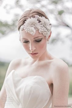 enchanted atelier fall 2013 bridal accessories enchanted headwrap