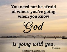 God Will Always Be By Your Side.
