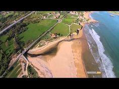Playa de la Espasa ( Colunga-Caravia, Asturias)   videos desde otro punto de vista Beach, Water, Outdoor, Point Of View, Beaches, Documentaries, Places To Visit, Pictures, Gripe Water