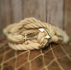 Triton's Anchor Wrap Bracelet