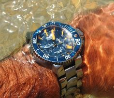 ORIS-one of the best things in my life! The Black Sea - August 2013 - Cristian Niculescu-Mizil, Romania.