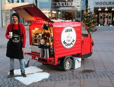 Serving great coffee in Stockholm! #Javamoppen #Stockholm #Sweden