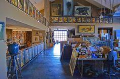 La Maison Boheme: Richard Murray's Live-Work Art Studio