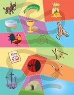 different take on resurrection eggs... resurrection puzzle