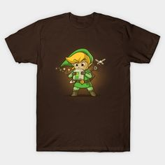 Cartridge Of Time T-Shirt - Legend of Zelda T-Shirt is $14 today at TeePublic!
