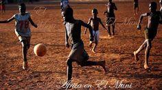 Niños africanos.- El Muni