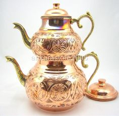 Turkish Double Teapot. This is almost exactly like mine.