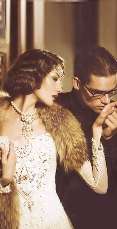A unique collection of 1920's Gown and Art Deco style Wedding Gowns for giving a…