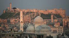 Esta ciudad es Aleppo, la segunda ciudad más importante de Siria con la población más grande después de Damasco.