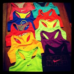 Nike sports bras <3