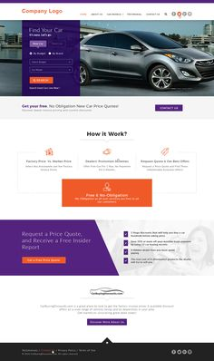 Car Dealer Website Template --- This mobile friendly website template is so designed that with little modification, you may use it in car automotive website, car dealer website, car rental service website, car repair website, car service website and so forth