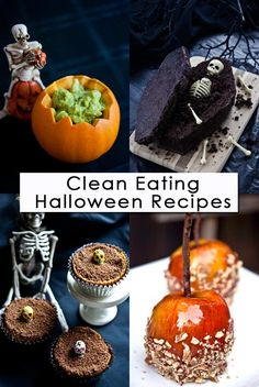 Clean Eating Thursday Recipe Linkup – Halloween Recipes ~ http://www.thegraciouspantry.com