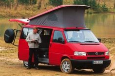 Volkswagen T4 Syncro camper.