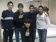 Yo,mis amigos y una amiga en La Serenisima