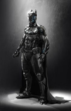 Batman Redesigned | Concept Artwork For Different Versions Of The Bat Suit